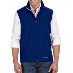 Marmot mens Appproach Vest blue small